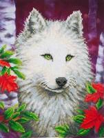 Diamond Dots DD7-007 White Wolf 45,7x35,5cm