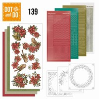 DOT and DO set 139 Poinsettia Christmas