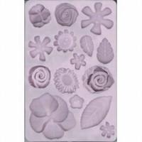 Siliconen vorm food proof DH788702-125 Bloemen en bladeren