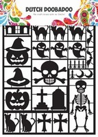 DDBD Paper art black 472.950.001 Halloween