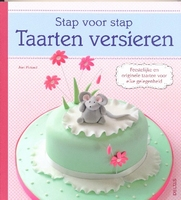 Stap voor Stap Taarten versieren isbn: 9044730883 paperback