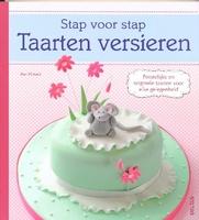 Stap voor Stap Taarten versieren isbn: 9044730883