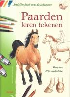 Boek: Paarden leren tekenen isbn: 9044727999 A4 paperback