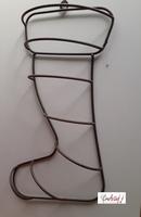 Metalen frame Kerstlaars voor groendecoratie (laatste exempl