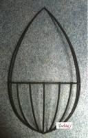 Metalen frame Muurmand voor groendecoratie