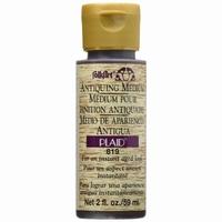 FolkArt 819 Antiquing Medium Apple Butter Brown