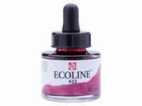 Talens Ecoline pipet-flacon 30ml 422 Roodbruin