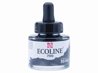 Talens Ecoline pipet-flacon 30ml 700 Zwart