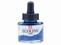 Talens Ecoline pipet-flacon 30ml 506 Ultramarijn donker
