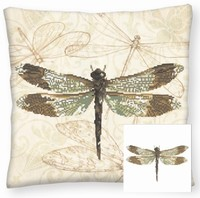 Diamond Dotz DD16.001 Pillow Dragonfly Earth 44x44cm