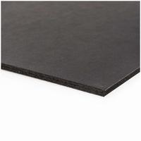 Foam Board Zwart 50x70cm dikte 5mm RICO