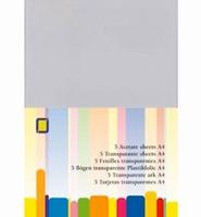 Transparante sheets set van 5 stuks art. 31000 A4