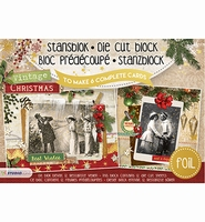 Studio Light A5 Stansblok SL14 Vintage Christmas