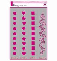 Pronty 470765002 Julia Woning stencil Boarders