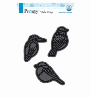 Pronty 494904003 Julia Woning Foam stamps 3 Birds