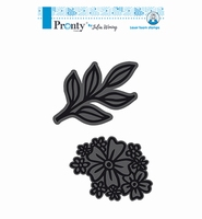 Pronty 494904001 Julia Woning Foam stamps Flower+Twig
