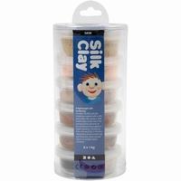 Silk Clay set 79142 Skin colours 6x14gram