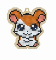 Diamond Painting WW263 Houten Charm set Hamster