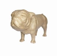 Decopatch MA001O Papier-mache Bulldog