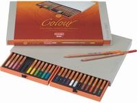 Bruynzeel Design Kleurpotloden box 24stuks 8805H24
