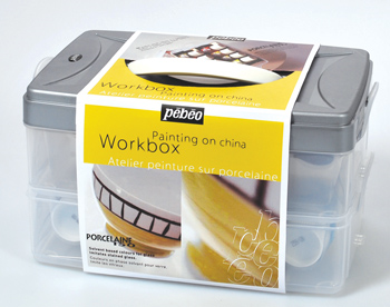 Pebeo Porcelaine 150 Collection Studio workbox 758403