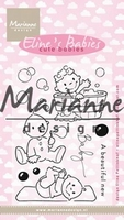 Clear Stamp MD-EC0176 Elines cute babies