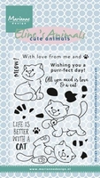 Clear Stamp MD-EC0172 Elines cute animals Kttens