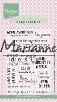 Clear Stamp MD-EC0171 Eline's babytekstjes nl