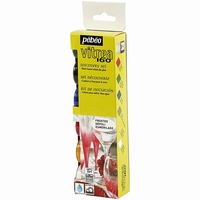 Pebeo Vitrea160 glasverf Discovery set Frosted 6x20ml 753414