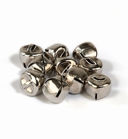 H&C12239-3903 Belletje silver 12mm-10stuks