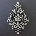 Metalen ornament vliegervorm  art. 12030-1007 H&C fun 7 cm