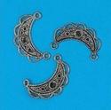 Metalen ornament guirlande klein 11808-9271 H&C fun OP=OP 2,5 cm
