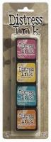 Ranger Distress Ink mini kit 1 TDPK40316 set van 4 stuks