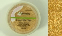 Craftemotions-foamball-clay-0502 Goud-glitter