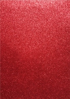 EVA Foam glitter sheets H&C12315-1534 Red  A4/5 vel
