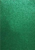 EVA Foam glitter sheets H&C12315-1535 Green A4/5 vel