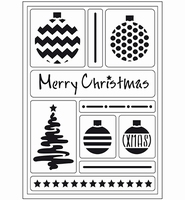 VIVA Decor Flex Stencil 400409500 Merry Christmas A5