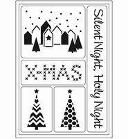 VIVA Decor Flex Stencil 400409700 Kerst-Silent Night A5