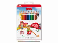 AANBIEDING Bruynzeel 8505M12B 12 coloured pencils, blik