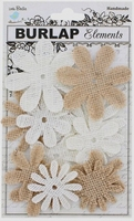 Little Birdie QLB021-JU Mix Media Jute bloemen assortiment