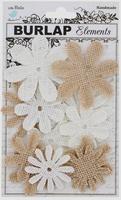 Little Birdie QLB021-JU Mix Media Jute bloemen assortiment