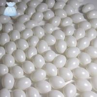Kunststof 6360 eieren wit 6cm