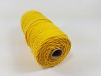 Macrame touw 2mm/43meter 890030_3204 Geel