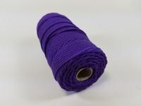 UITVERKOCHT Macrame touw 2mm/43meter 890030_3208 Blauw