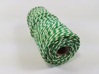 Macrame touw 2mm/43meter 890030_3224 Groen-Wit