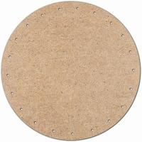 Meyco 22330 MDF bodemschijf voor pitriet vlechten 10cm