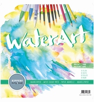 Kippershobby1098 WaterArt Aquarelpapier 30,5cm 8 sheets