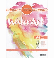 Kippershobby 1070 WaterArt Aquarelpapier A4 12 sheets