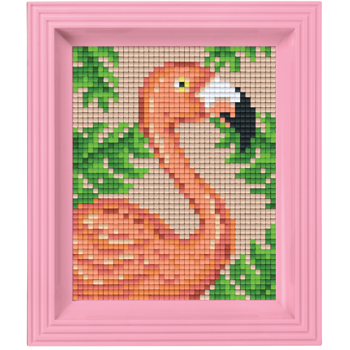 NIEUW Pixelhobby classic pakket 31435 Flamingo