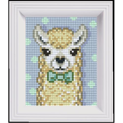 NIEUW Pixelhobby classic pakket 31441 Alpaca white-Lama wit